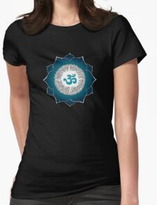 Aum 2 Womens Fitted T-Shirt