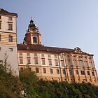Stift Melk near the Danube, Wachau Austria by Ilan Cohen