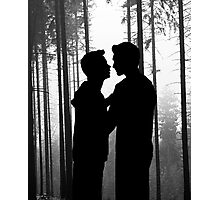 Forest Confession Photographic Print