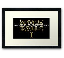 SPACE BALLS II Framed Print