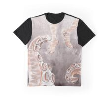 Creature from the Deep Watercolor Graphic T-Shirt