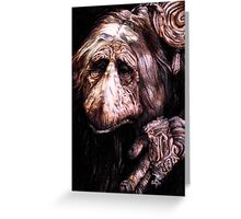 Mystic from the Dark Crystal Greeting Card