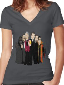 The Six Masters Women's Fitted V-Neck T-Shirt