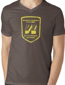 Defending the Barrio Mens V-Neck T-Shirt
