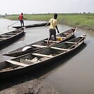 Men on Boats by TravelGrl