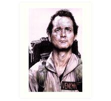 Peter Venkman from Ghostbusters Art Print