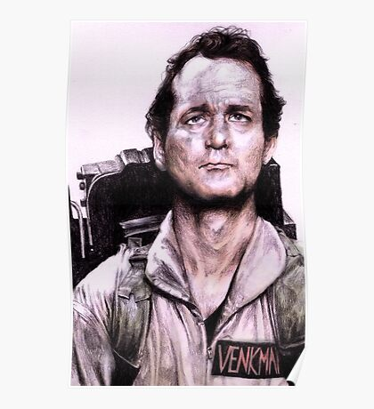 Peter Venkman from Ghostbusters Poster
