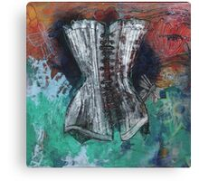 Floating Corset Canvas Print
