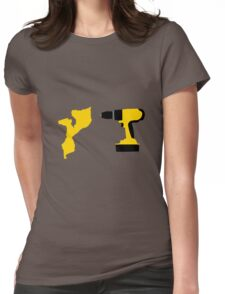 MOZAMBIQUE DRILL Womens Fitted T-Shirt