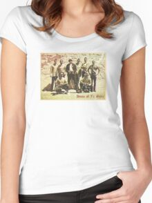 Greetings from San Quentin Women's Fitted Scoop T-Shirt