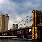Across the Brooklyn Bridge by Dana Horne