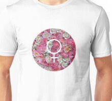 Female Floral Unisex T-Shirt