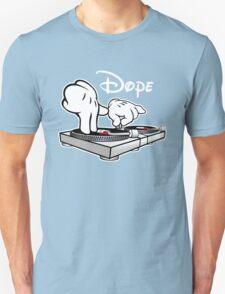 Dope! DJ Cartoon Hands T-Shirt