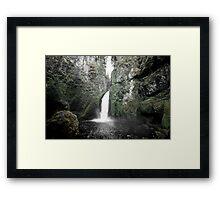 Da' Gorge Framed Print