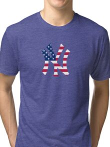 New York Yankees America  Tri-blend T-Shirt
