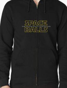 SPACE BALLS THE SCHWARTZ AWAKENS Zipped Hoodie