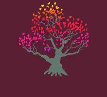Red Bonsai Tree Unisex T-Shirt