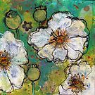 White Poppies by Maria Pace-Wynters