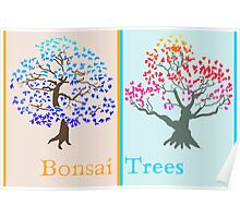 Bonsai Trees Poster