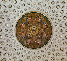 Library of Congress Ceiling by TilenHrovatic