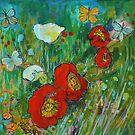 Poppy Walk by Maria Pace-Wynters