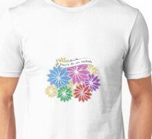 PSA Don't be an Asshole floral Unisex T-Shirt