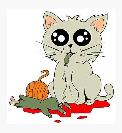 Cannibal Cat Photographic Print