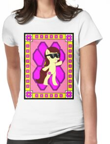 Kiki Mlp OC Poster 3 Womens Fitted T-Shirt