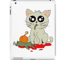 Cannibal Cat iPad Case/Skin