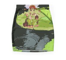 Ganesh, Elephant headed God. Mini Skirt