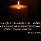 Shine your light by Rainydayphotos