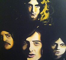 Led Zeppelin by Matt Burke