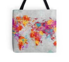 Mother Earth Crying Tote Bag