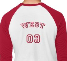 West Up To Bat Men's Baseball ¾ T-Shirt
