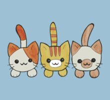 Three Cute Kittens Baby Tee