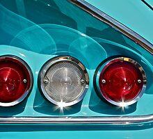 Impala Taillights by Linda Bianic