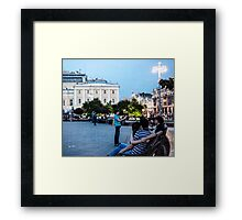 Young Lovers And Other Strangers - Russia Framed Print