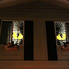Halloween Window Eyes by heatherfriedman