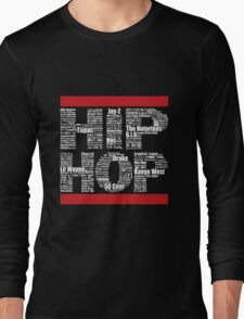 Hip Hop in Black Long Sleeve T-Shirt