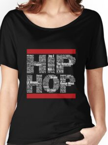 Hip Hop in Black Women's Relaxed Fit T-Shirt
