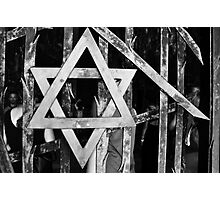 Star of David Photographic Print