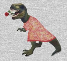 Hopeless Romantic T-Rex by HeadFirst  Scribbles