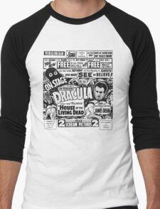 Dracula! Men's Baseball ¾ T-Shirt
