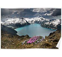 Panorama Ridge Poster