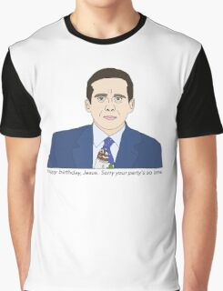 Sorry Your Party's so Lame Graphic T-Shirt