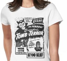 Tomb of Terror! Womens Fitted T-Shirt