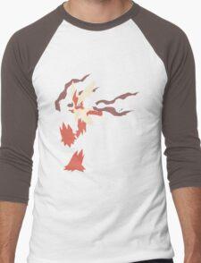 Mega Blaziken Men's Baseball ¾ T-Shirt