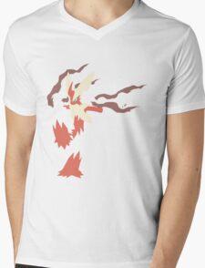 Mega Blaziken Mens V-Neck T-Shirt