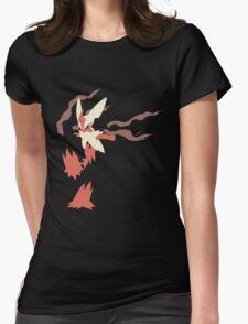 Mega Blaziken Womens Fitted T-Shirt