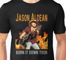 JASON ALDEAN BURN IT DOWN Unisex T-Shirt